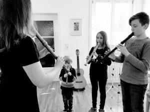 Musikschule Libeaux Gruppenunterricht Flöte