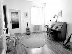 Musikschule Libeaux Raum 1 Instrumente